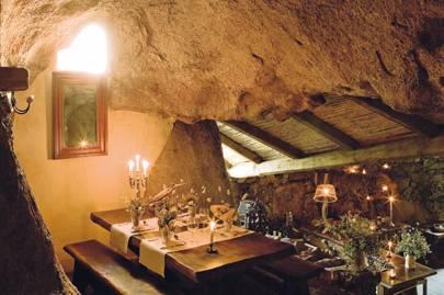 La Grotte restaurant at Domaine du Murtoli