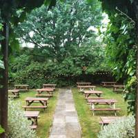 10. Book a table at your favourite beer garden