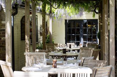 Take in the best pub gardens