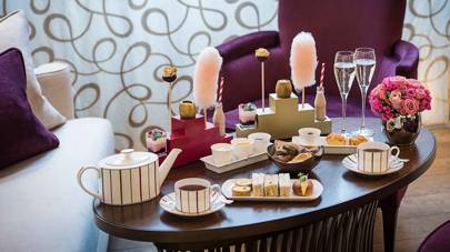 Afternoon tea with Charlie at One Aldwych