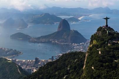 Climb up to Christ the Redeemer in Rio de Janeiro