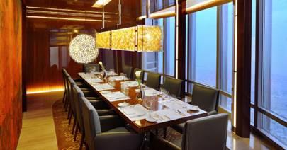 Atmosphere Restaurant In Dubai Burj Khalifa Cn Traveller