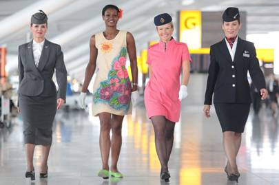 The Pan Am look: British Airways by Julien Macdonald