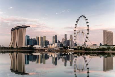 9. Singapore. Score 91.58