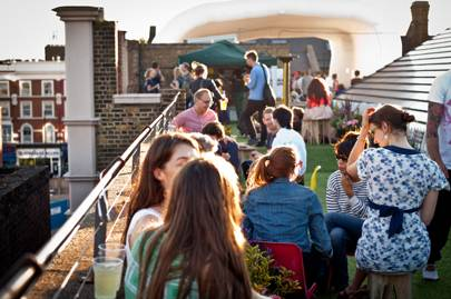 Dalston Roof Park, London