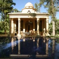 1. Book a spectacular garden villa