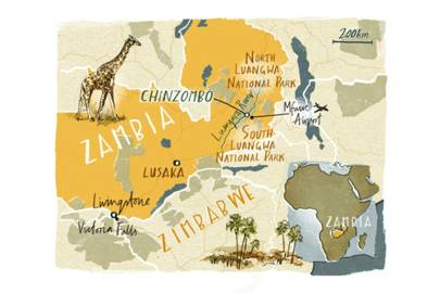 Getting to Zambia