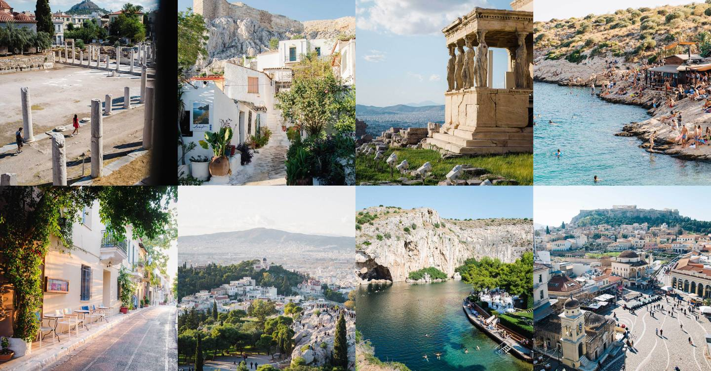 The 15 most beautiful places in Athens
