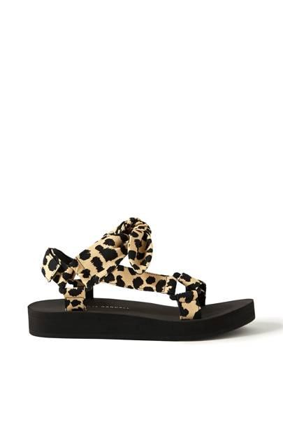 Animal-print shoes