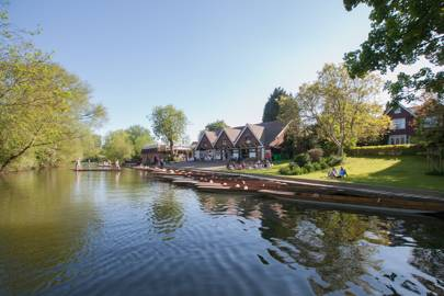 Cherwell Boathouse Restaurant, Oxford
