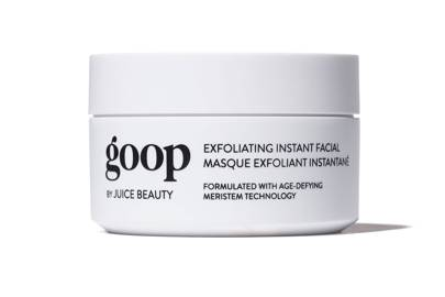 21. Goop Exfoliating Instant Facial