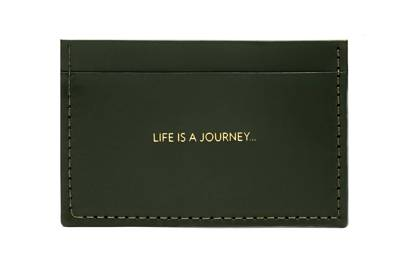 The personalised card holder