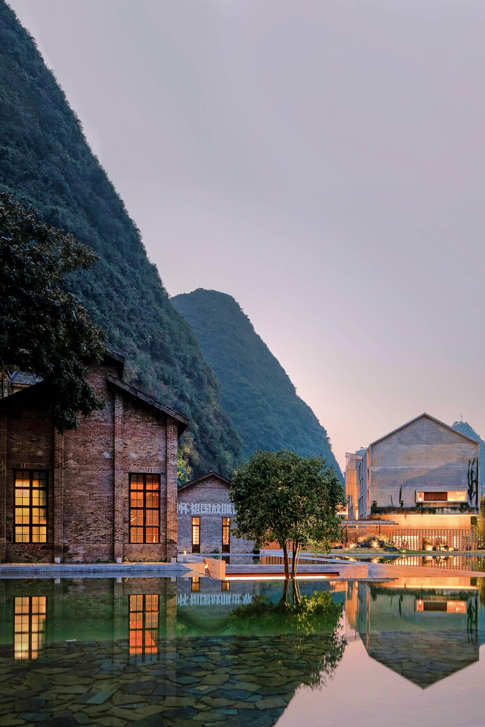 Modern House Yangshuo China