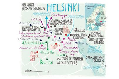 Getting to Helsinki