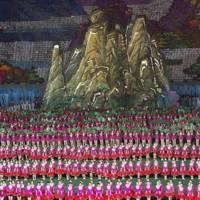 Mount Paektu at the Arirang Games
