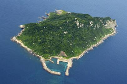 6. Visit an island of which one literally may not speak