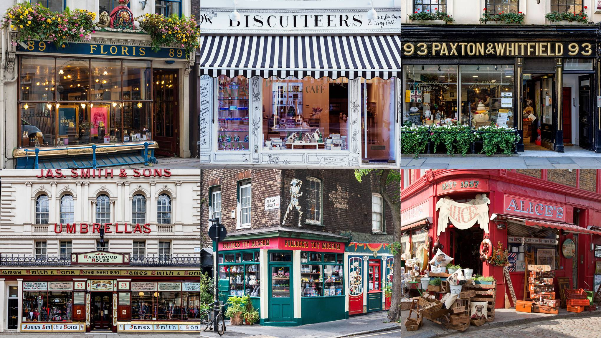 The 20 prettiest London shop fronts