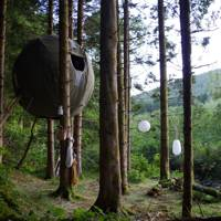Red Kite Tree Tent, Wales
