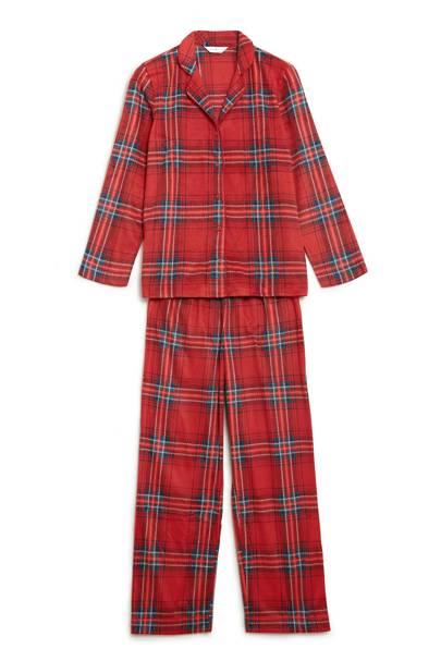 Marks & Spencer tartan pyjamas, £15
