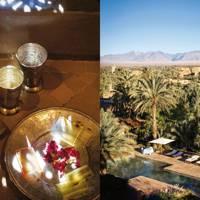 Skoura oasis and the Amerhidil kasbah