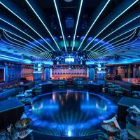 Get the endorphins pumping with live sets from St Tropez's Les Caves du Roy nightclub