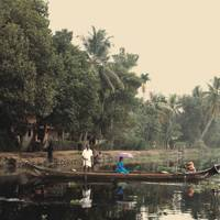 Life on the backwaters of Kerala
