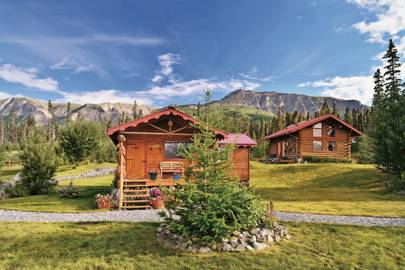 ULTIMA THULE LODGE, WRANGELL, ST. ELIAS NATIONAL PARK AND PRESERVE, ALASKA, USA