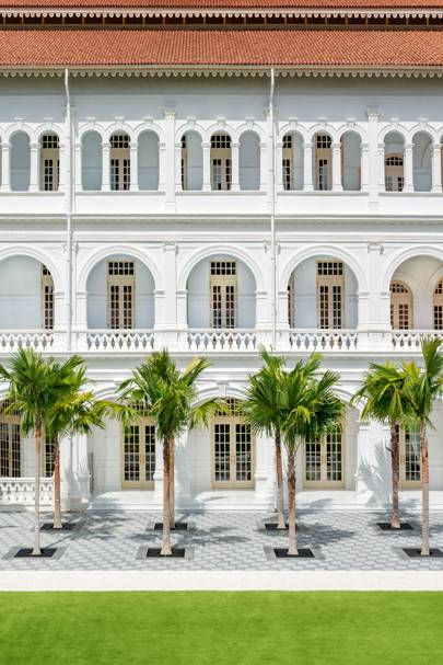 9. The original Raffles has had a revamp. We go to Singapore for an exclusive look