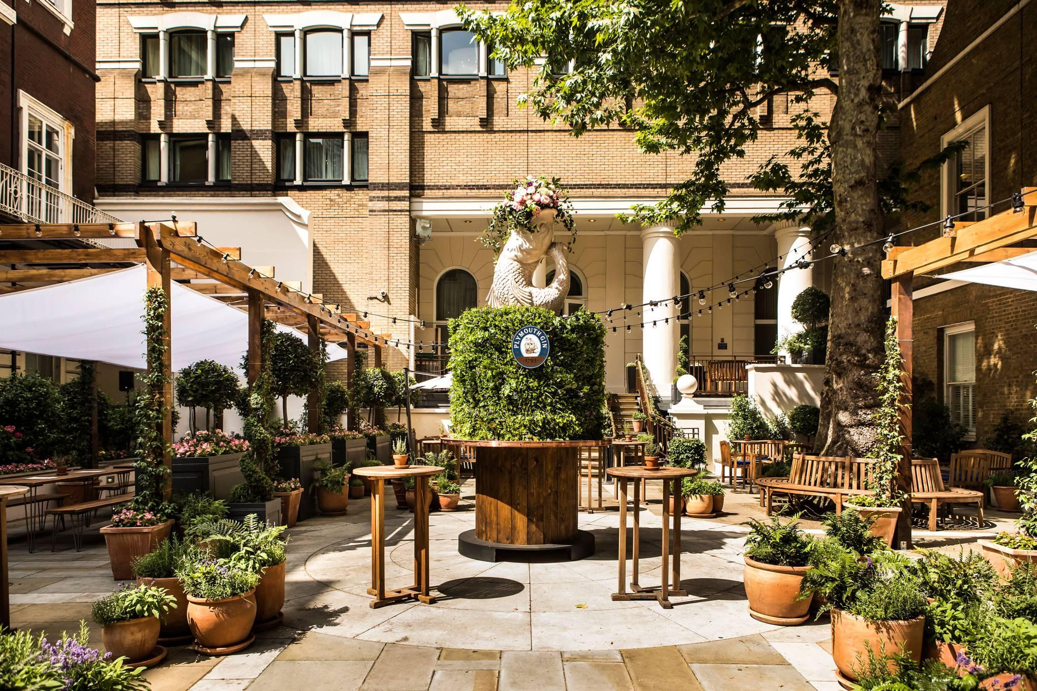London restaurants with gardens | CN Traveller