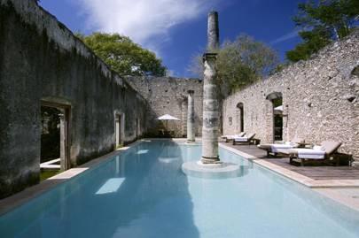 Hacienda Uayamon, Campeche, Mexico