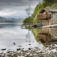 Elegant boathouse