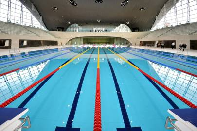 London Aquatics Centre, Stratford