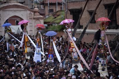 5. Cow Festival, Kathmandu, Nepal