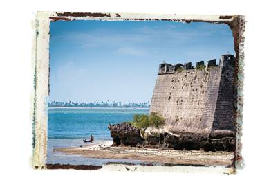 The São Sebastião fortress, Mozambique