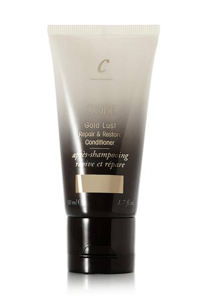 48. Oribe Travel Sized Gold Lust Repair and Restore Conditioner