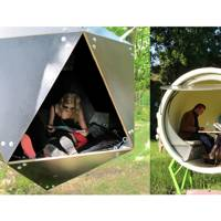 Urban Camping pods, Amsterdam