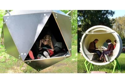 Urban Camping pods, Amsterdam