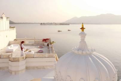 3. Taj Lake Palace Hotel, Udaipur