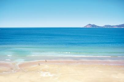 Porto Do Son beach, Galicia
