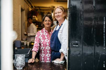 Melanie Arnold and Margot Henderson, Rochelle Canteen
