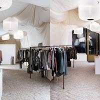 Nanushka designer shop, Budapest