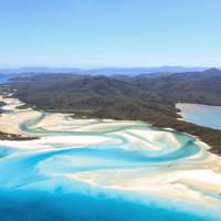 18. The Great Barrier Reef and Whitehaven Beach, Australia