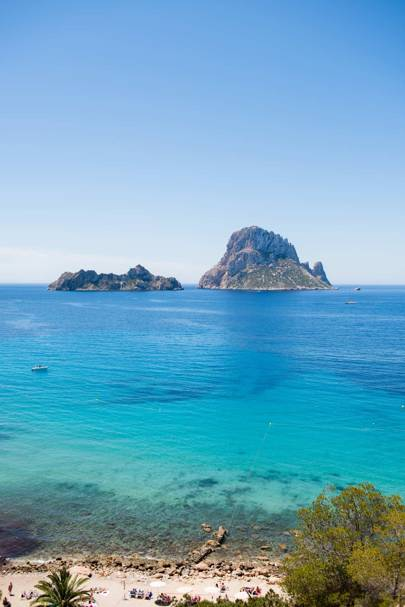 Magnetic Rock Es Vedra From Cala Dhort Beach Ibiza