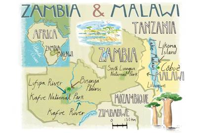 Getting to Zambia and Malawi