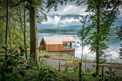 Lingholm Boathouse, Cumbria