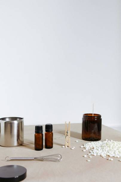 6. Discover how to make scented candles at home