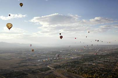 Albuquerque International Balloon Fiesta, New Mexico