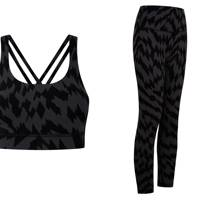 Lululemon x Ed Curtis sports top and leggings