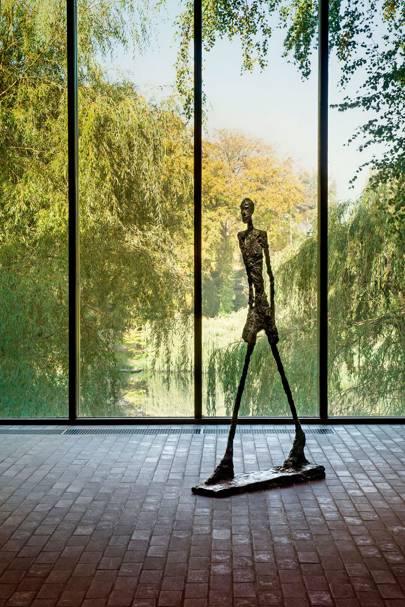 LOUISIANA MUSEUM OF MODERN ART, HUMLEBÆK, DENMARK