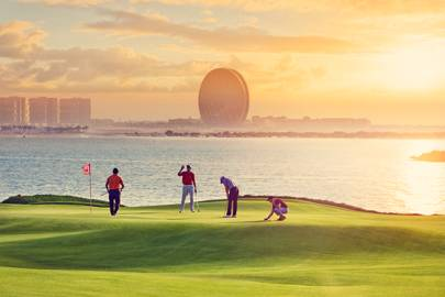 7. Tee up at a top-notch golf club